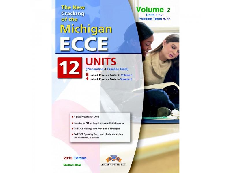 Cracking the Michigan (CAMLA) ECCE Volume 2 (9-12) Practice Tests Student's Book