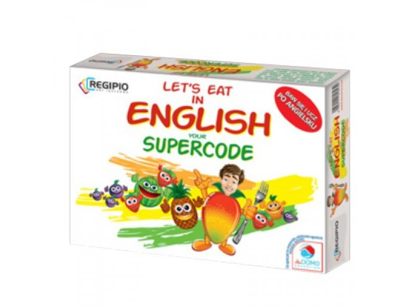 LETS EAT IN ENGLISH YOUR SUPERCODE