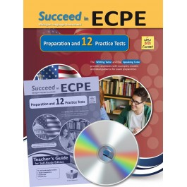 Succeed in ECPE Michigan Language Assessment NEW 2021 Format - 12 Practice Tests - Self Study Edition