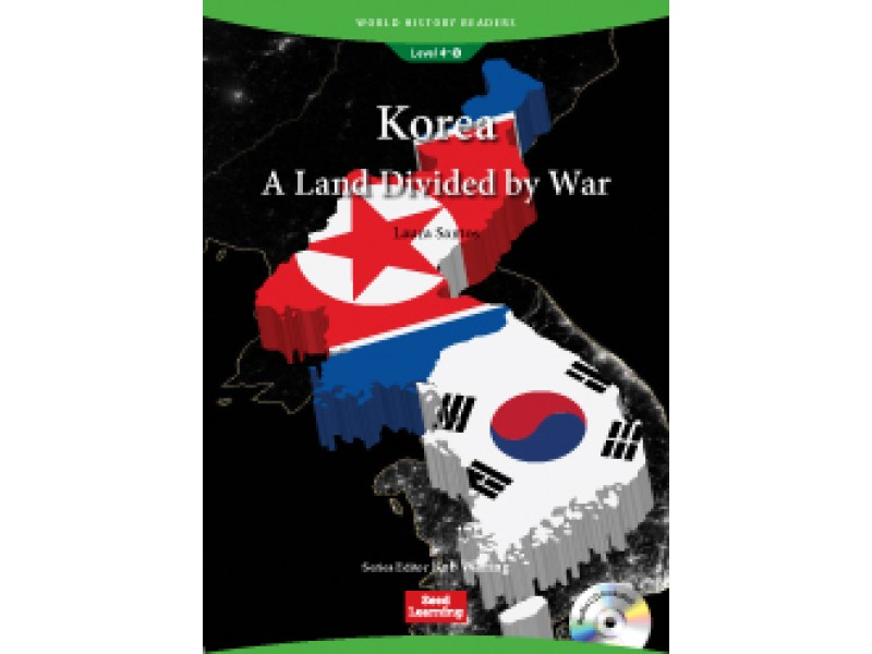 Korea: A Land Divided by War (+CD) Level 4